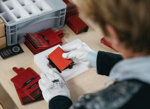 Porte-cartes RFID - Secrid Lyon & Heureux comme un Prince