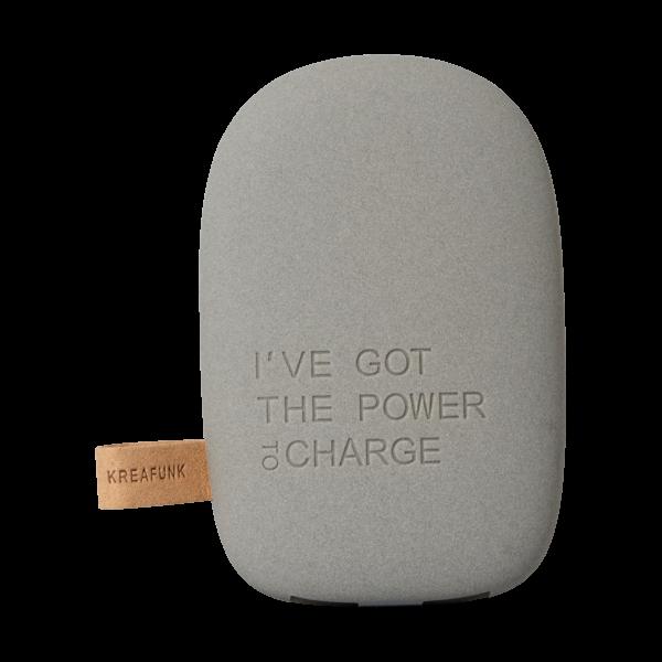 Batterie de secours smartphones Kreafunk & Heureux comme un Prince