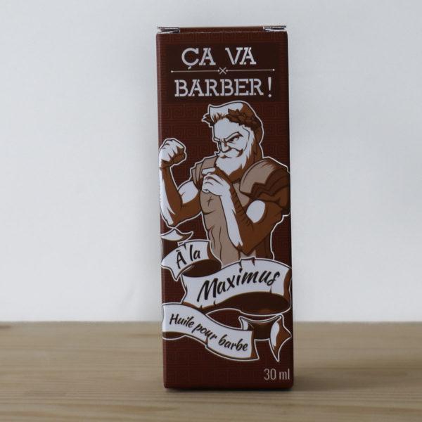 Huile pour barbe - Ça va Barber & Heureux comme un Prince