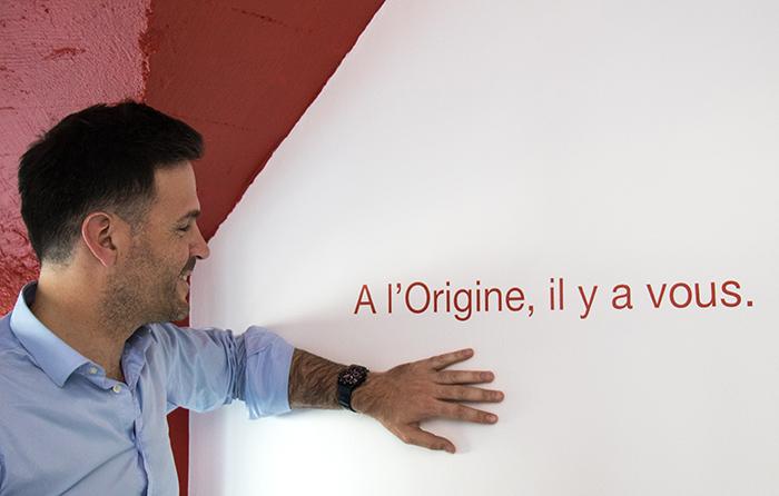 "Luc Grange Yourigin ""A l'Origine, il y a vous"""