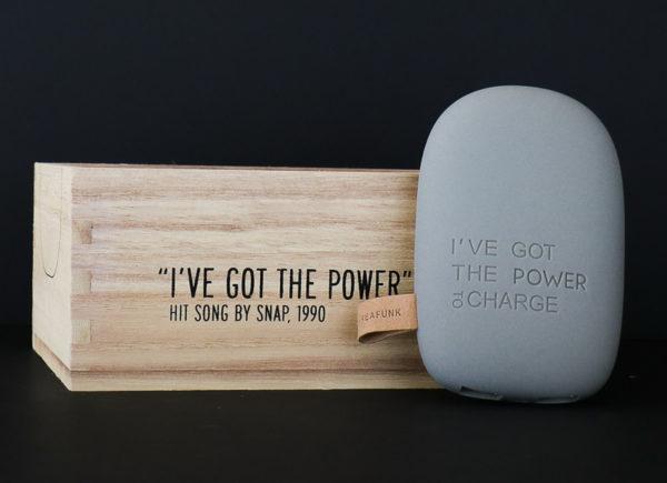 Batterie de secours 6000mAh pour smartphones et tablettes - Kreafunk - Heureux comme un Prince