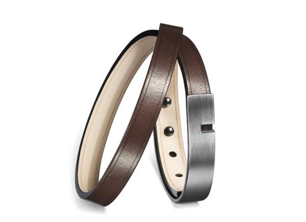 Bracelet double tour en cuir Ursul - Heureux comme un Prince