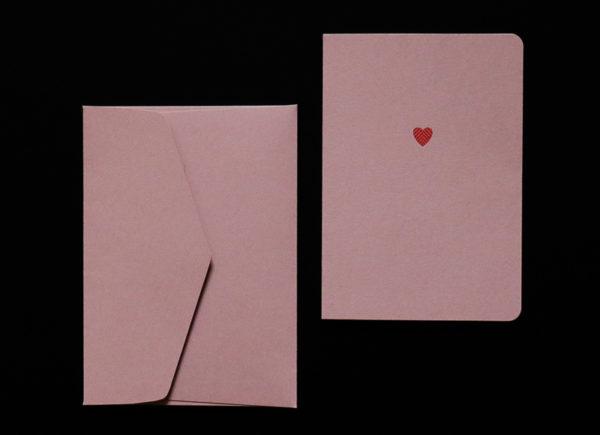 Carte Saint Valentin Le Typographe - Heureux comme un Prince