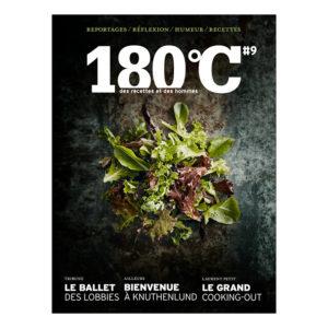 180°C, des recettes et des hommes