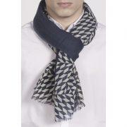 Écharpe 100% laine Azulejos - Ullys & Heureux comme un Prince
