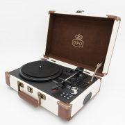 Platine vinyle nomade Bluetooth - GPO & Heureux comme un Prince