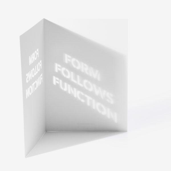 Carte FORM FOLLOWS FUNCTION - Cinq Points & Heureux comme un Prince