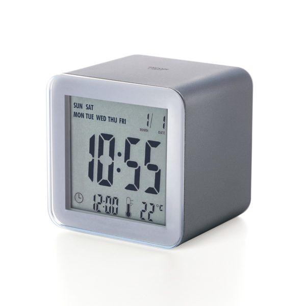 Réveil Cube Sensor LCD - Lexon & Heureux comme un Prince
