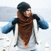 Chèche en laine - Monsieur Charli & Heureux comme un Prince