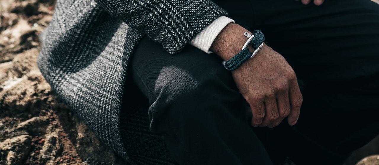 Bracelet corde de bateau Pig&Hen & Heureux comme un Prince