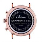 Montre chrono All Black Woven - Kapten & Son & Heureux comme un Prince