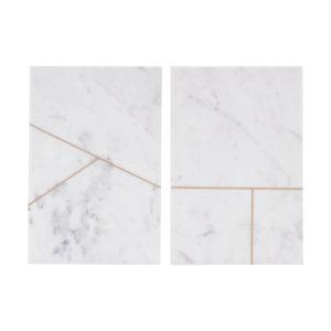 Plateau en marbre 20x30 cm - House Doctor & Heureux comme un Prince
