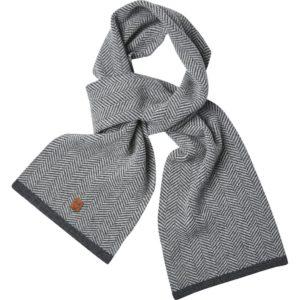 Echarpe en laine d'agneau - Knowledge Cotton Apparel & Heureux comme un Prince