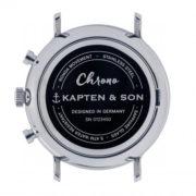 Montre chrono Silver White - Kapten & Son & Heureux comme un Prince