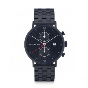 Montre chrono Black Midnight - Kapten & Son & Heureux comme un Prince