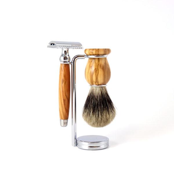 Set de rasage traditionnel - Gentleman Barbier & Heureux comme un Prince