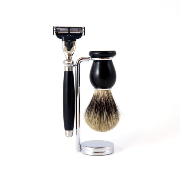 Set de rasage traditionnel - Gentleman Barbier & Heureux comme un Prince