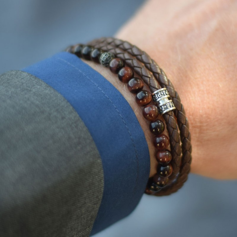 Bracelet homme pierre paul jacques