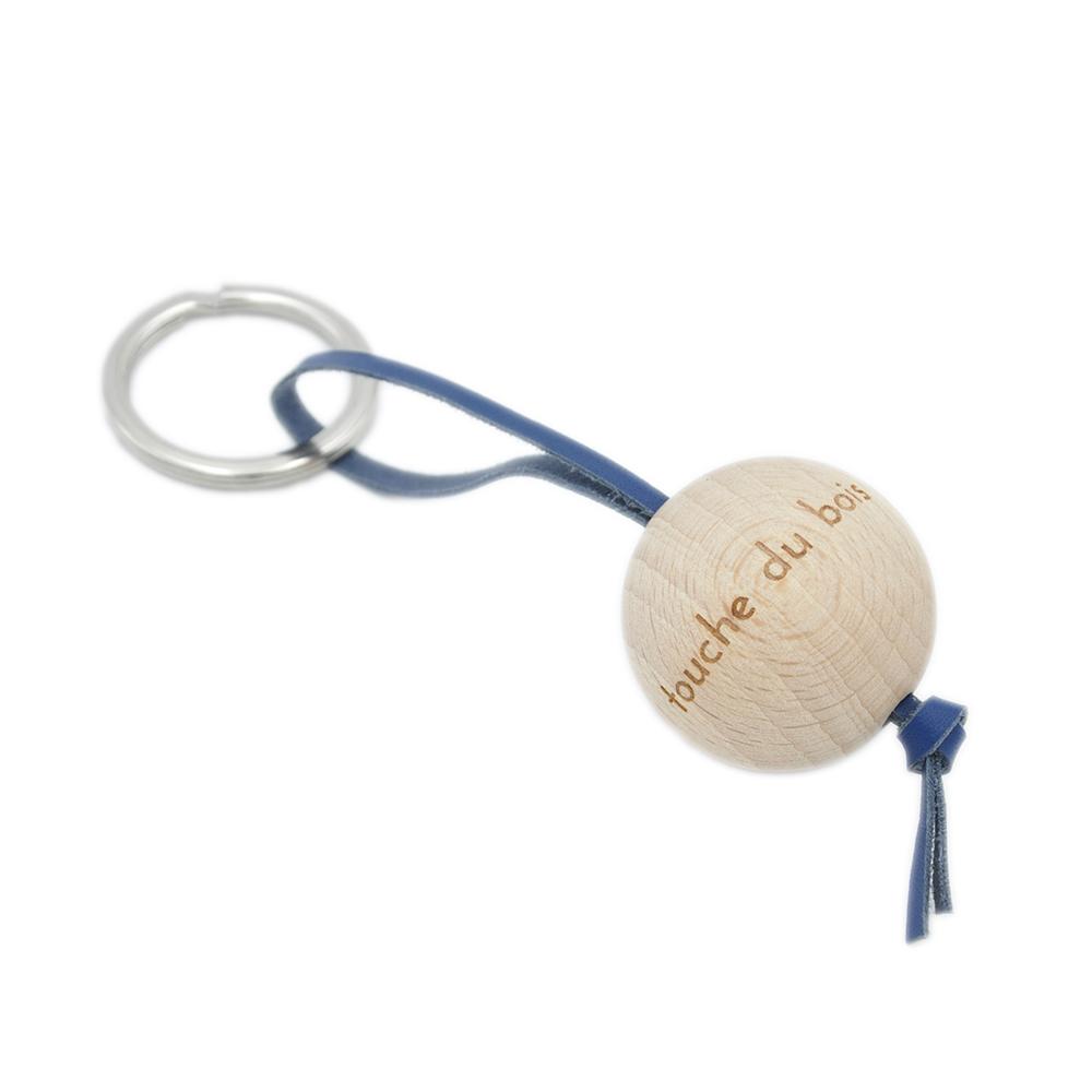 Porte-clés en bois Touche du bois - Mazzarino & Heureux comme un Prince