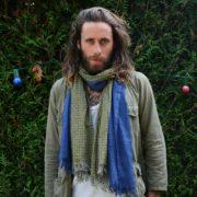 Foulard 100% coton céramique vert - Monsieur Charli & Heureux comme un Prince