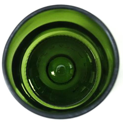 """Verres recyclés """"cul de bouteille"""" & Heureux comme un Prince"""