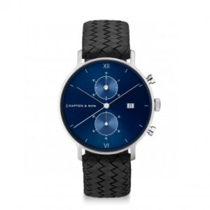 Montre chrono SIlver Blue - Kapten & Son & Heureux comme un Prince