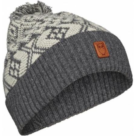 Bonnet coton et laine biologique - Knowledge Cotton Apparel