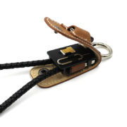 Porte clés et câble de charge smartphone - Very Bad Coque & Heureux comme un Prince