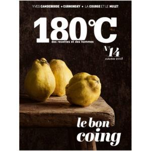 La revue 180°C, des recettes et des hommes Heureux comme un Prince