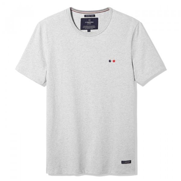 Tee-shirt Baptiste gris - La Gentle Factory & Heureux comme un Prince