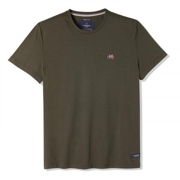 Tee-shirt Baptiste kaki - La Gentle Factory & Heureux comme un Prince