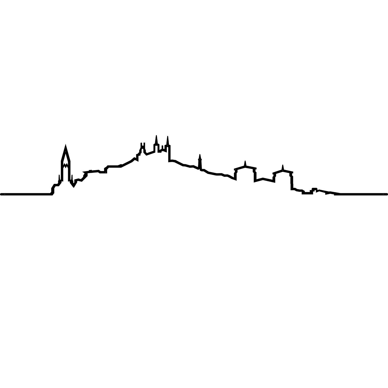 Skyline Lyon Fourvière Saint-Jean - Oxidée & Heureux comme un Prince