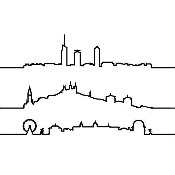 Skyline Lyon - Oxidée & Heureux comme un Prince