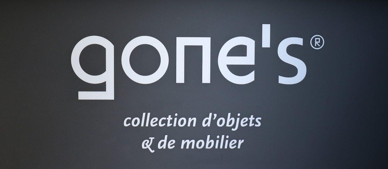 Gone's, collection d'objets et de mobilier en béton et bois