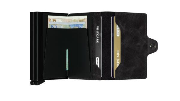 Double porte-cartes RFID - Secrid Lyon & Heureux comme un Prince