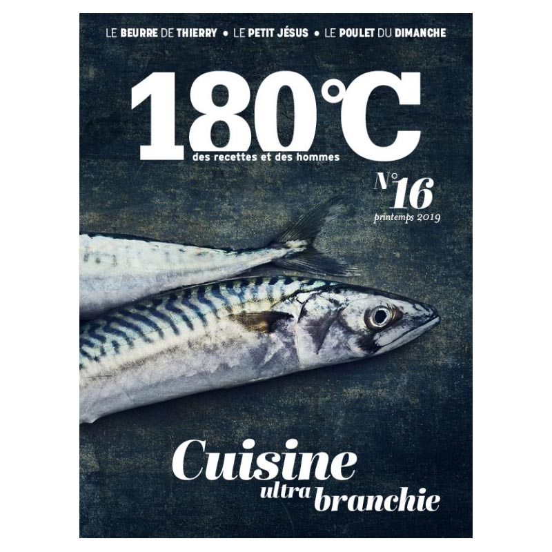 La revue 180°C, des recettes et des hommes & Heureux comme un Prince