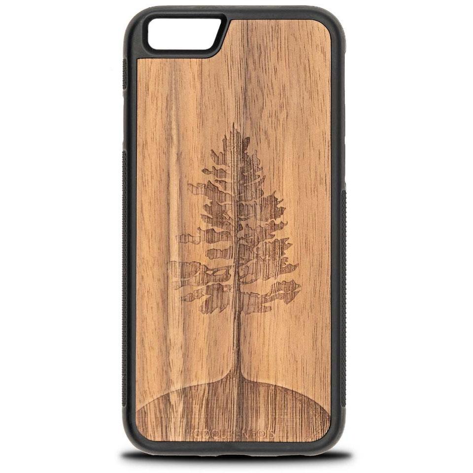 Coque iPhone arbre - Coque en bois & Heureux comme un Prince