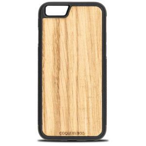 Coque iPhone en chêne - Coque en bois & Heureux comme un Prince
