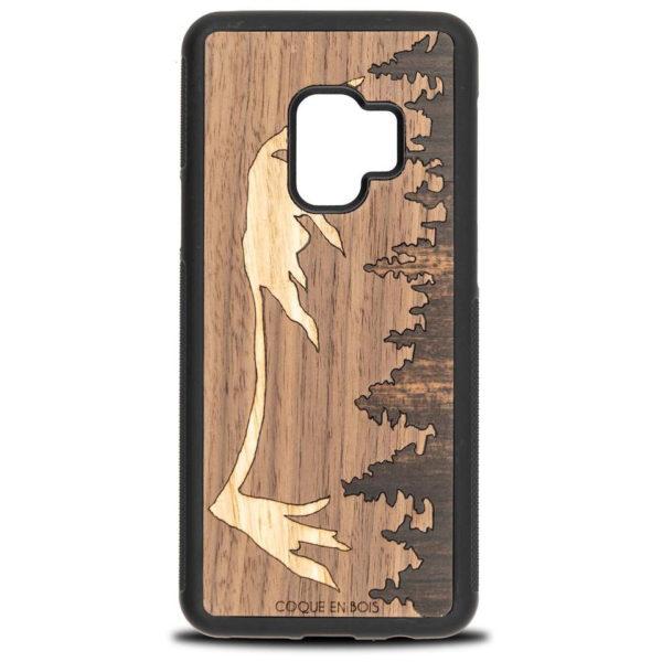 Coque Samsung Mont Mézenc - Coque en bois & Heureux comme un Prince