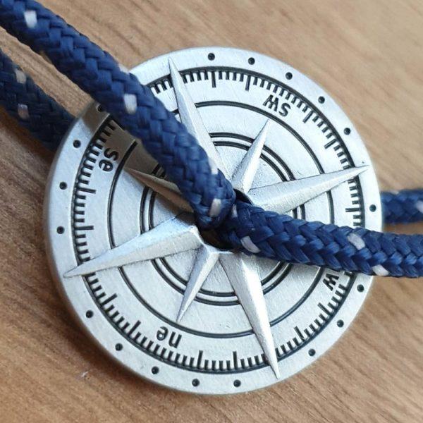 Bracelet rose des vents - Le Vent à la Française & Heureux comme un Prince