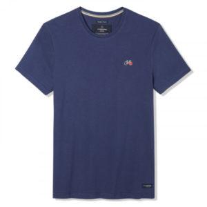 Tee-shirt Baptiste bleu indigo - La Gentle Factory & Heureux comme un Prince
