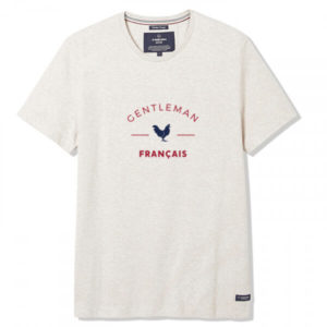 Tee-shirt Philibert beige écru- La Gentle Factory