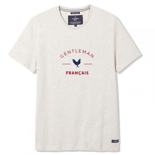 Tee-shirt Philibert beige écru- La Gentle Factory