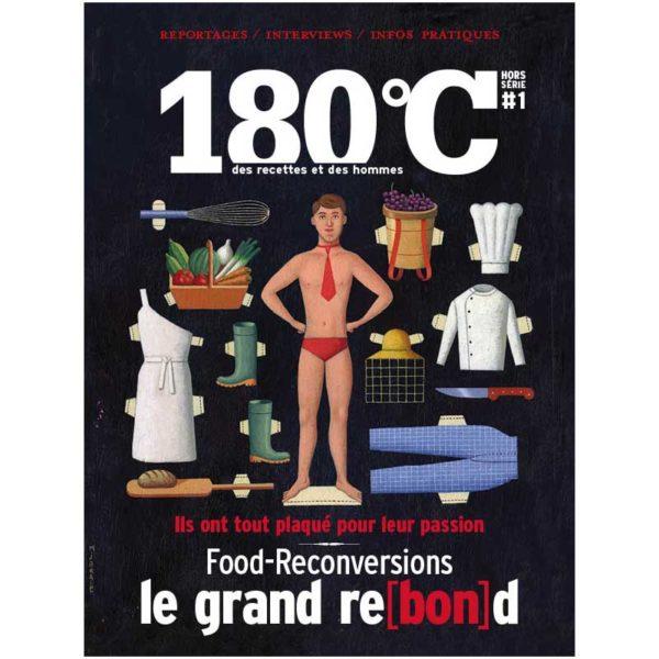 HS La revue 180°C Reconversions & Heureux comme un Prince
