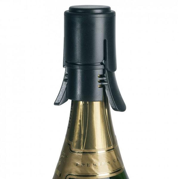 Bouchon polycarbonate pour vin pétillant - Le Creuset & Heureux comme un Prince