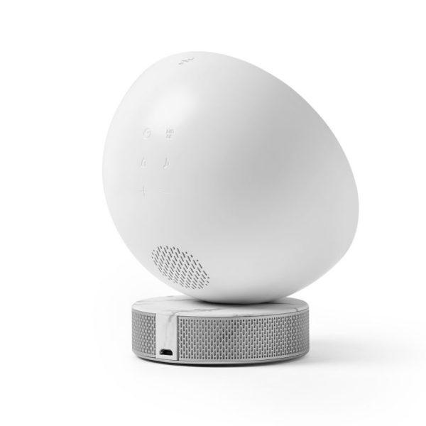 Lampe de réveil simulateur d'aube - Lexon & Heureux comme un Prince
