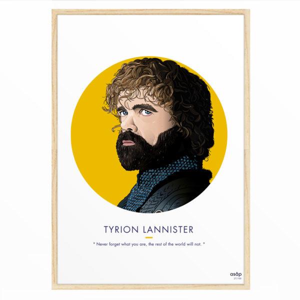 Affiche Tyrion Lannister (GOT) 30x40 - ASAP & Heureux comme un Prince