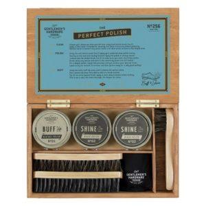 Boîte à cirage - Gentlemen's Hardware & Heureux comme un Prince