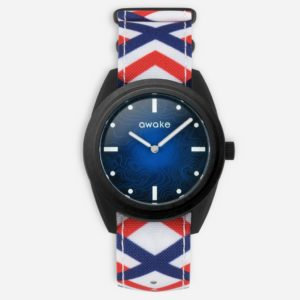 Montre La Bleue Nato Montre La Bleue Nato Tricolore- Awake & Heureux comme un Prince
