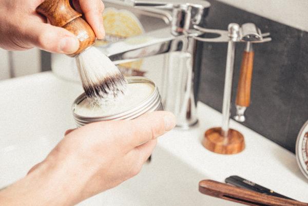 Blaireau pour rasage - Ça va barber - Heureux comme un Prince